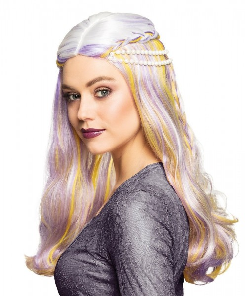 Pastelowa peruka Elf Daisy
