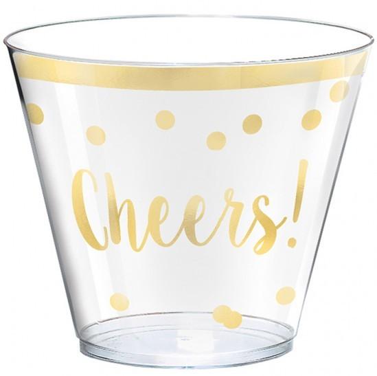 30 Cheers Happy New Year Becher 266ml