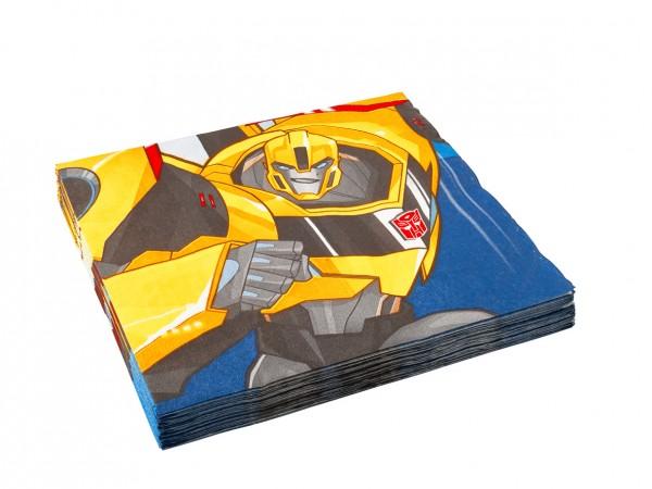 Transformers Kindergeburtstag Serviette Bumblebee 1