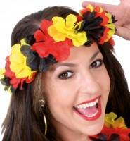 Deutschland Fan Hawaii Blumenkranz