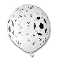 5 Fußball Luftballons Torjäger