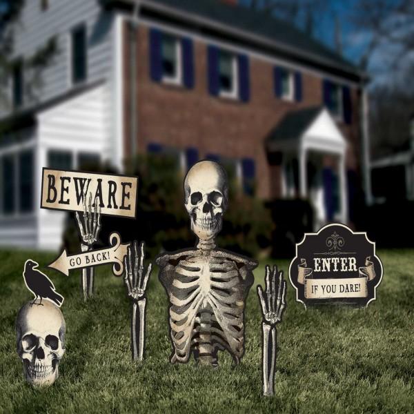 Boneyard Gartendeko 6-teilig