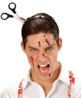 Blutiger Scherenunfall Haarreif