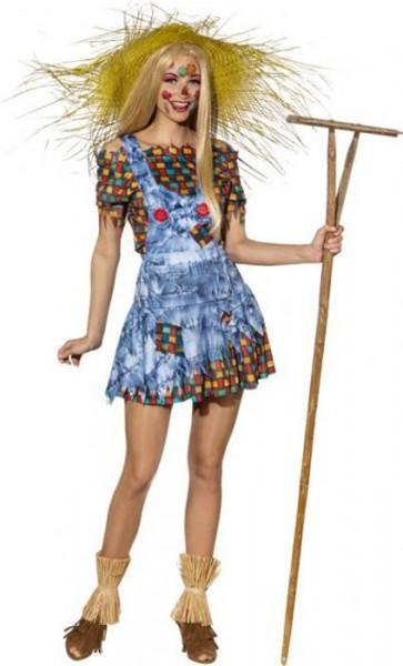 Crazy Vogelscheuche Kostüm Für Damen 1