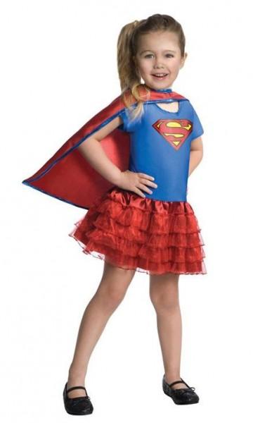Kleines Super Girl Kinderkostüm