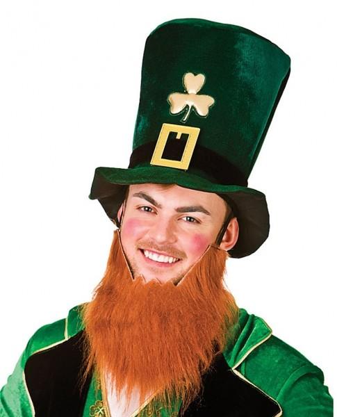 St. Patricks Day Zylinder mit Bart