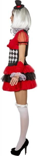 Süßes Harlekin Damenkleid