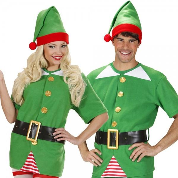 Elfen Helfer Weihnachts Kostüm Unisex