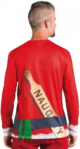 Camisa Bad Santa para hombre
