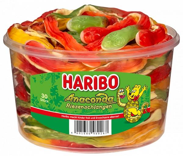 30 Haribo Anaconda Schlangen 1200g