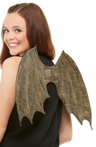 Goldene Drachen Flügel 50cm
