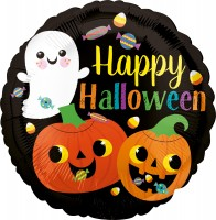 Happy Spoky Halloween Folienballon 43cm
