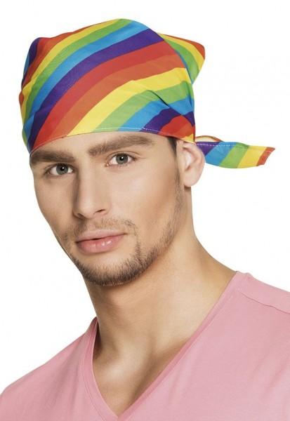 Regenbogen Pride Bandana Kopftuch 1