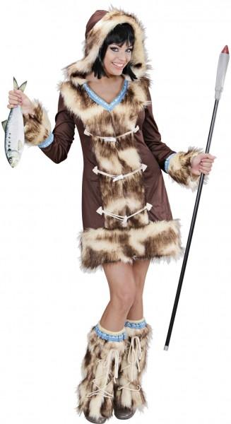 Disfraz de mujer esquimal Sakari
