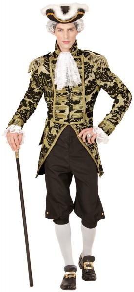 Tailcoat de noble vénitien en or-noir