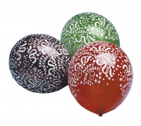 5 Bunte Happy Birthday Ballons Time To Party 30cm