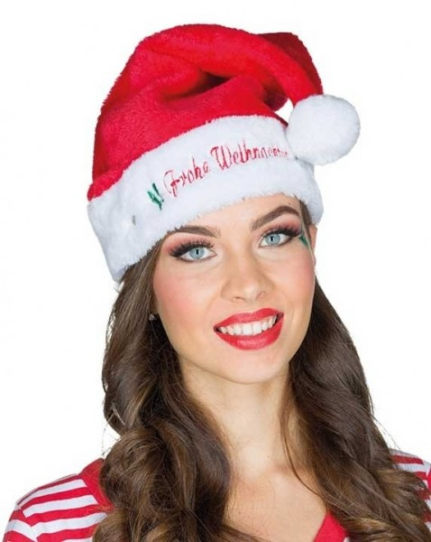 LED Weihnachtsmütze Holy Night