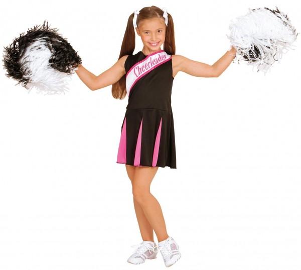 Charyl Cheerleader Mädchenkostüm