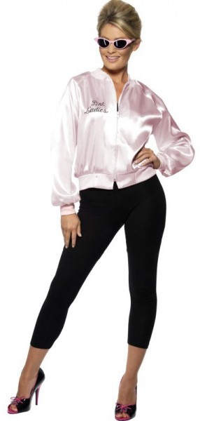 Rosa Rockige Greas Pink Lady Jacke