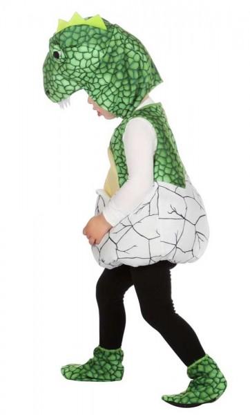 Costume da bambino Dino appena schiuso