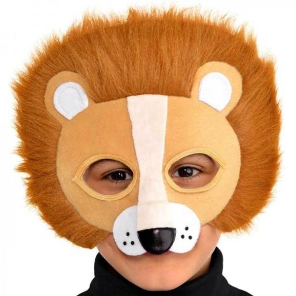 Masque de lion mignon pour enfants