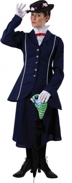 Bezauberndes Nanny Stephanie Kostüm