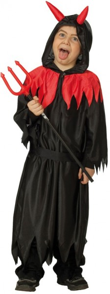Halloween devil Satan costume for kids