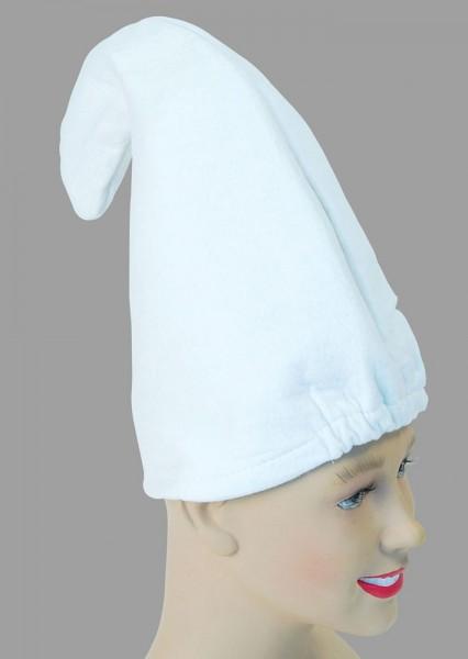 Weiße Kobold Zweigen Mütze