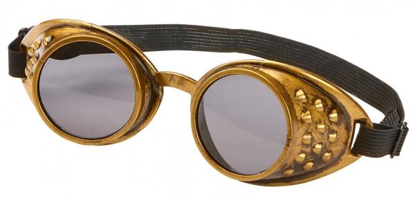 Mac Max Steampunk Brille In Bronze