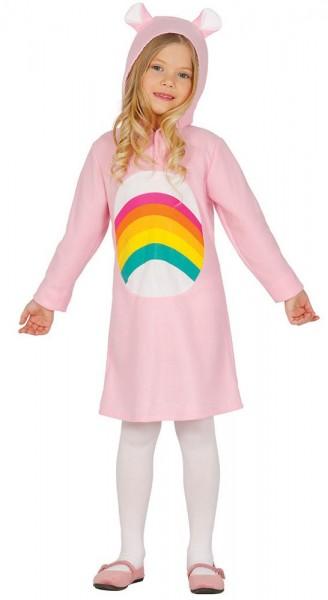 Rainbow Rosa Bärkostüm Für Kinder