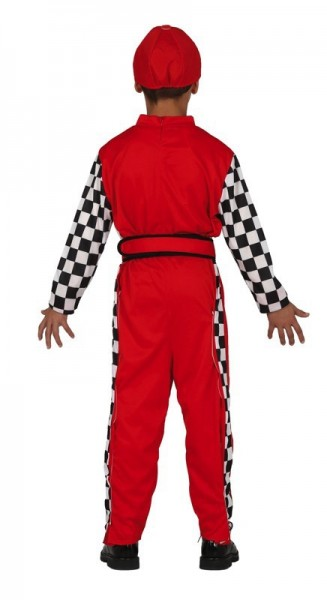 Formula Rennfahrer Kinderkostüm Charlie