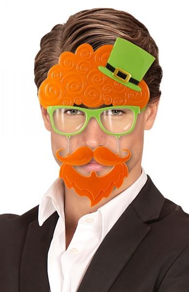 Witzige St. Patricks Day Brille