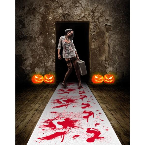 Tapis de chambre de torture sanglante 4.5mx 60cm