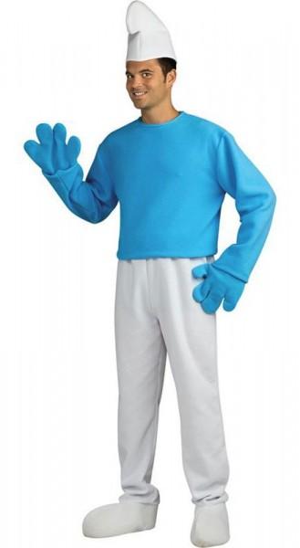 Crazy Schlumpf Premium Kostüm