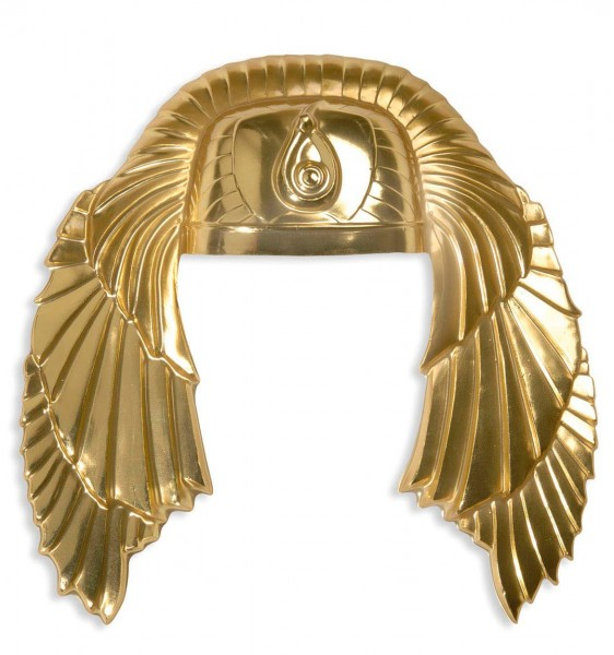 Ägyptischer Pharaonen Kopfschmuck Gold