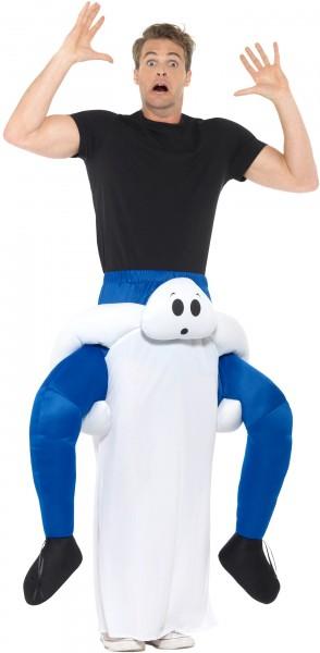 Castle ghost piggyback costume