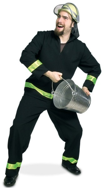 Lifesaver brandweerman heren kostuum