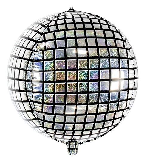 70s Discokugel Orbz Ballon 40cm