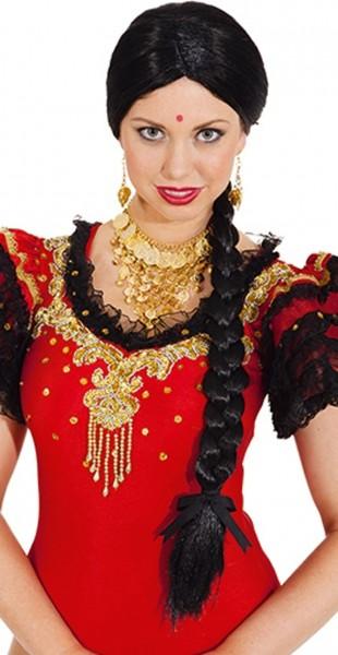 Indische Damenperücke