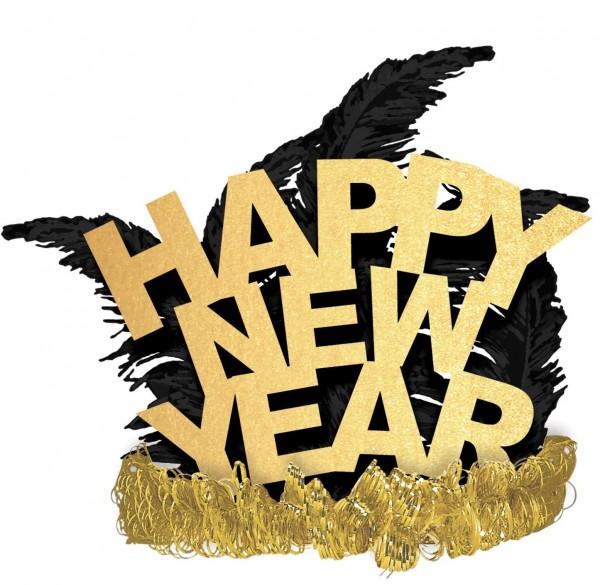 Happy New Year Feder Krone
