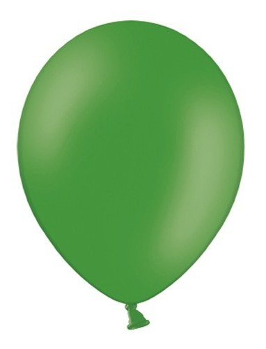 100 party star balloons fir green 27cm
