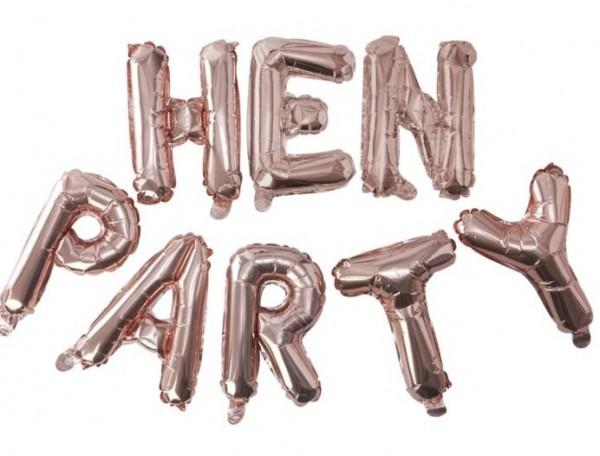 Beauty JGA Hen Party Folienballons 2,5m