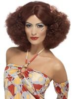 Damen Afro Perücke 70er Jahre Style