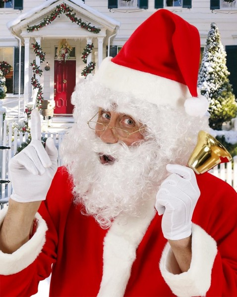 Weihnachtsmann Kostüm Set