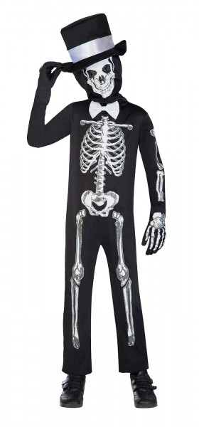 Déguisement combinaison squelette pour enfants