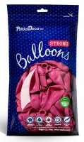 10 Partystar Luftballons pink 27cm