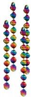 4 Deko Spiralen Regenbogen