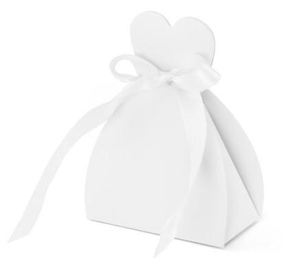 10 cajas de novia blanco