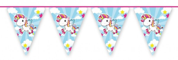 Unicorn Poppy Pennant Chain 10m