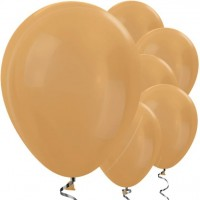 50 Goldene metallic Ballons Jive 30cm